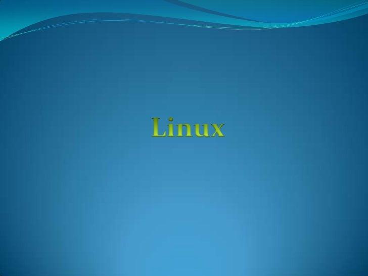 Linux<br />