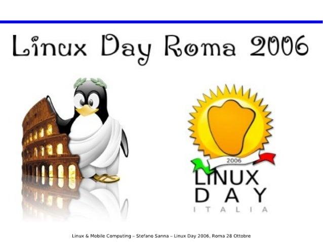 Linux & Mobile Computing