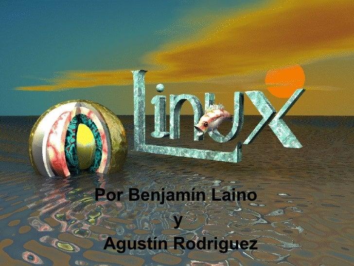 Por Benjamín Laino  y Agustín Rodriguez