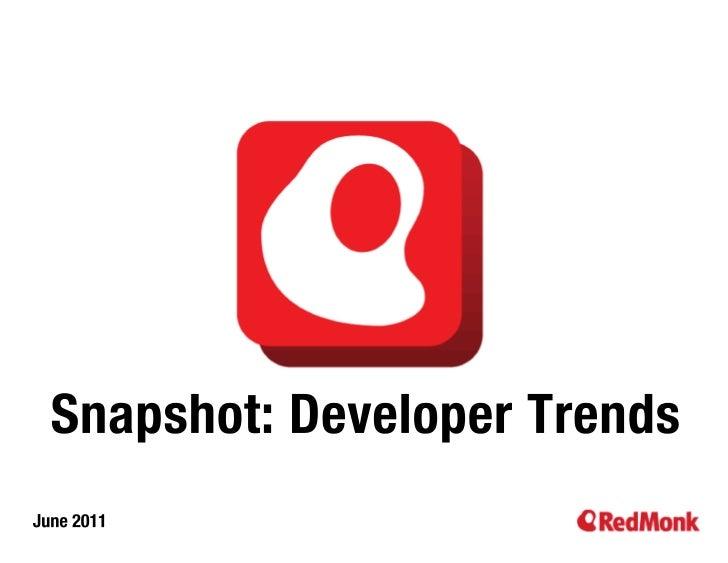 Snapshot: Developer Activity