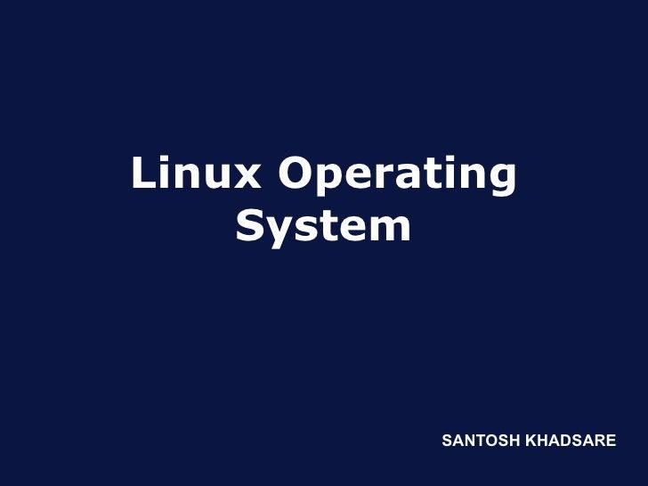 Linux basics