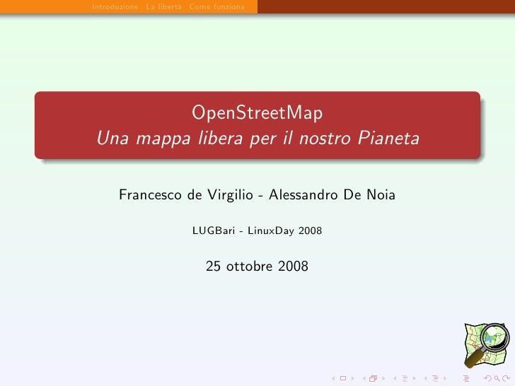 OpenStreetMap: una mappa libera per il nostro Pianeta
