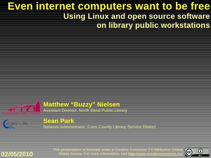 Even internet computers want to be free: Using Linux and open source software on library public desktops