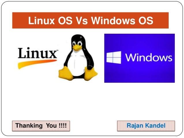 windows vs linux essay