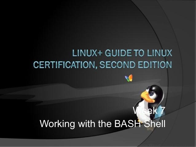 Linux week7