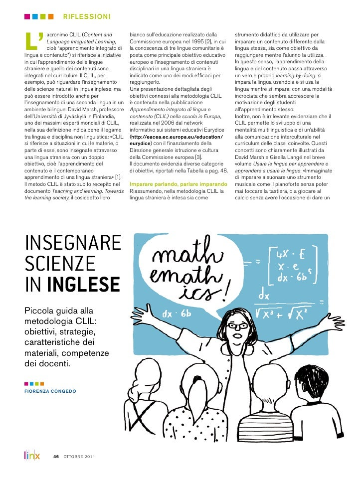 Insegnare Scienze In Inglese-Teaching Science in English