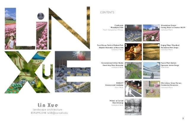 Lin Xue Portfolio
