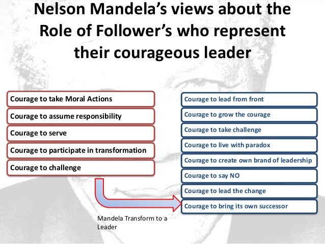 nelson mandelas leadership style essay As a leader, south african president nelson mandela demonstrated remarkable leadership qualities, including advocacy for peace, powerful presence that disarmed.