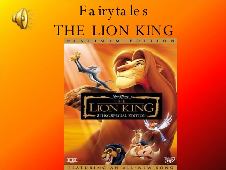 Fairytales THE LION KING