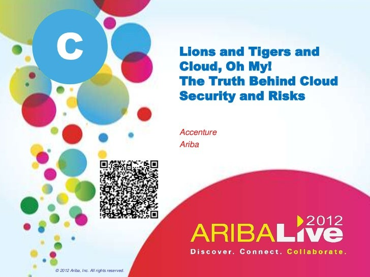Lions and Tigers and Cloud, Oh My! The Truth Behind Cloud Security and Risks
