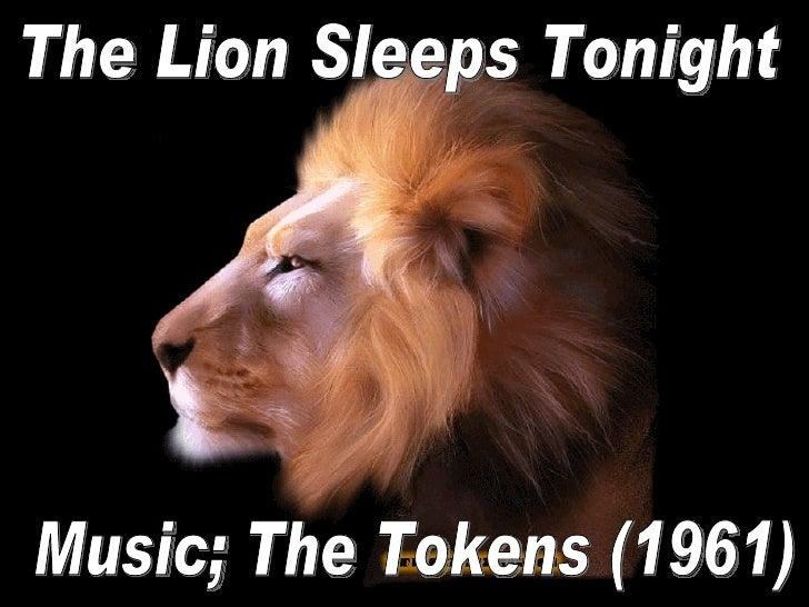 The Lion Sleeps Tonight Music; The Tokens (1961)
