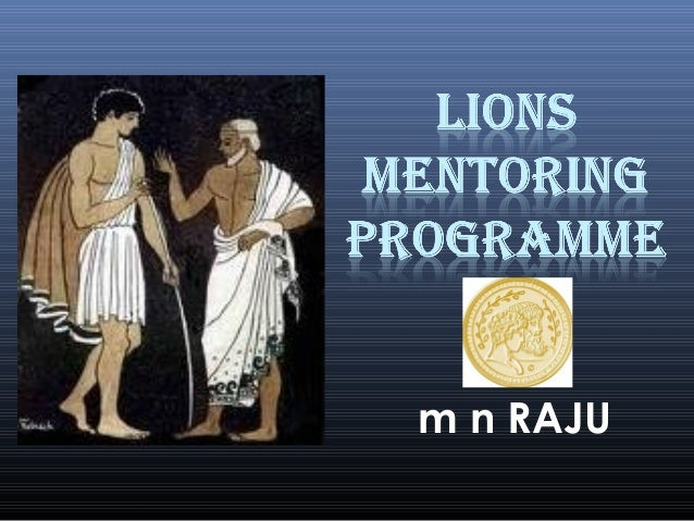 Lions Mentoring Programme