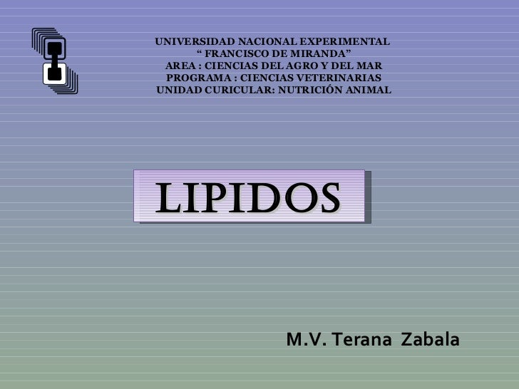 """UNIVERSIDAD NACIONAL EXPERIMENTAL      """" FRANCISCO DE MIRANDA"""" AREA : CIENCIAS DEL AGRO Y DEL MAR PROGRAMA : CIENCIAS VETE..."""