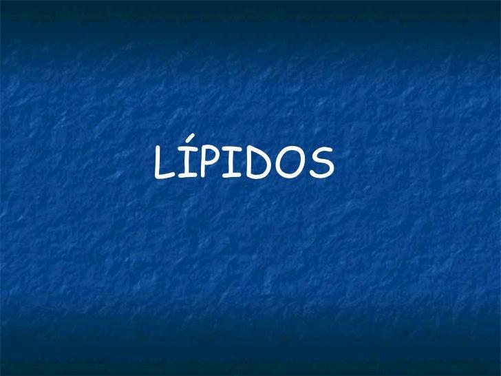 Lipidos 2009 2010