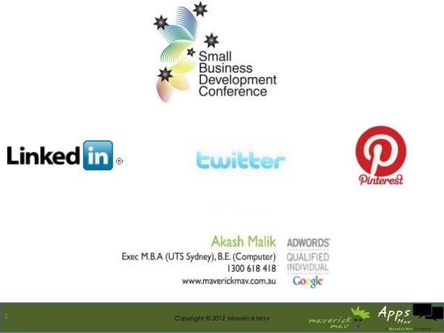 LinkedIn, Pinterest, Twitter Tips