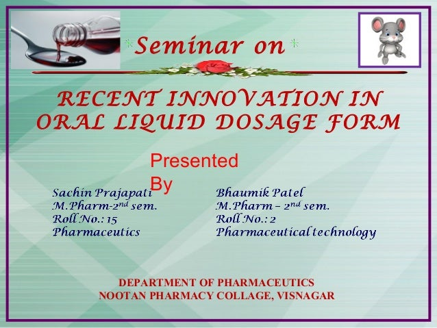 innovation in Liquid 2 by bhaumik and sachin seminar
