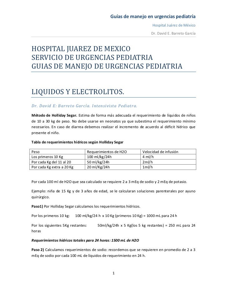 Guías de manejo en urgencias pediatría                                                                         Hospital Ju...