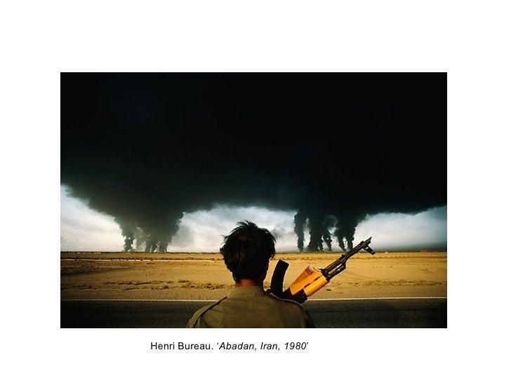 Henri Bureau. 'Abadan, Iran, 1980'