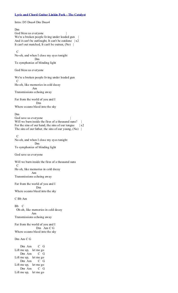 Chord Lagu Linkin Park | linkin park numb, kumpulan lagu ...