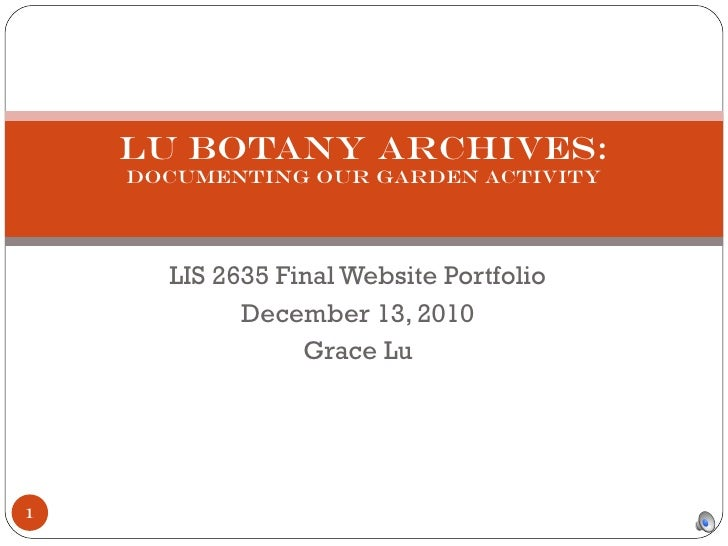 Lis2635 website presentation_g_lu
