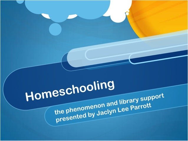 Homeschooling and library resources
