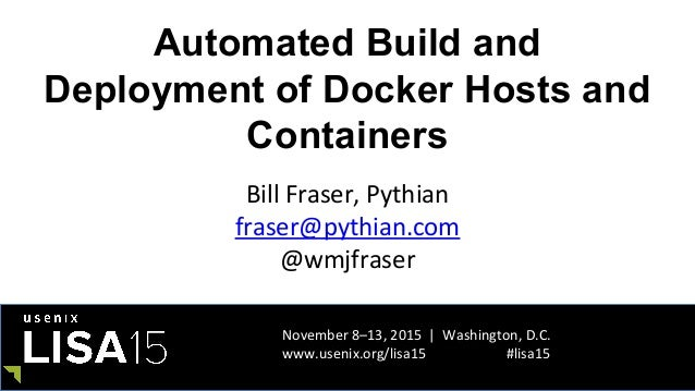Lisa15 automated build and deployment of docker hosts and for Consul docker tutorial