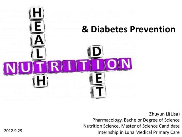 Lisa heath nutrition diet and diabetes prevention lisa