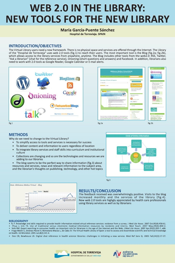Web 2.0 in the Library : new tools for the new library (poster Mariá García-Puente Sánchez)