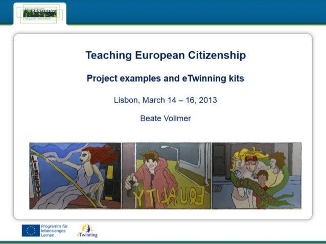 Teaching European Citizenship