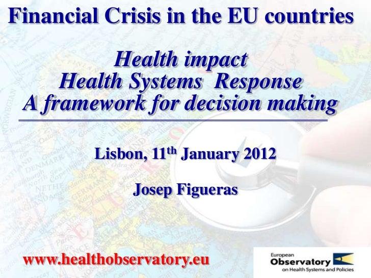 Lisbon financial crisis january 2012