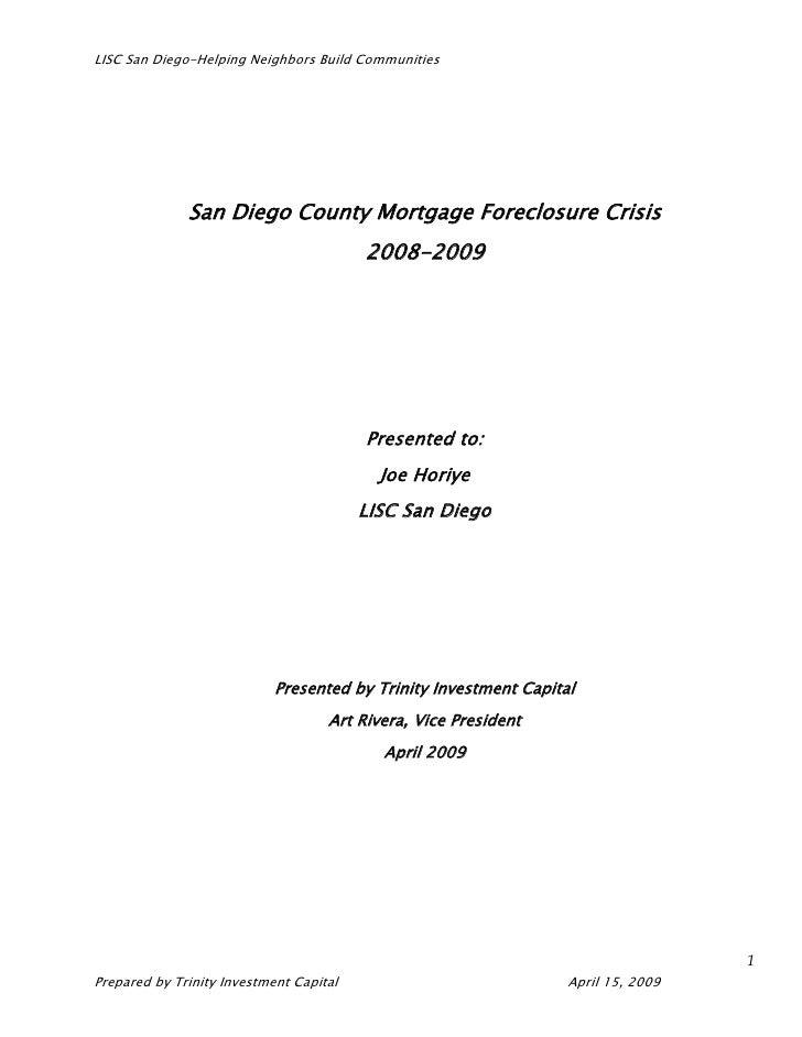 LISC San Diego Foreclosure Plan Final Word03 Version1