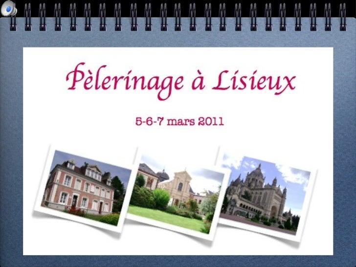 Lisieux 2011   album - bis
