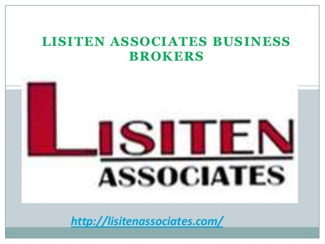 Be a business broker