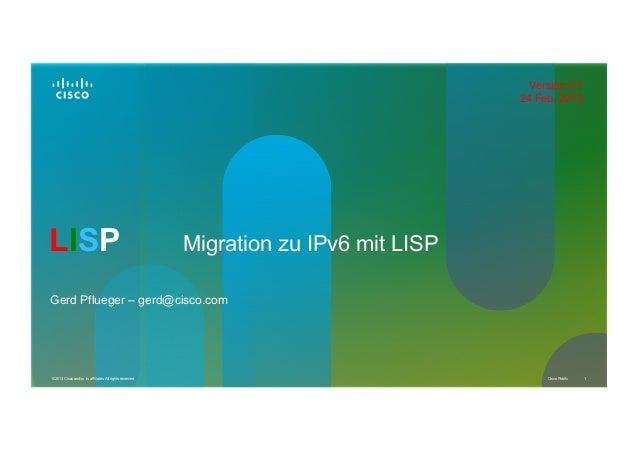 Version 0.7                                                                                        24 Feb. 2013LISP       ...