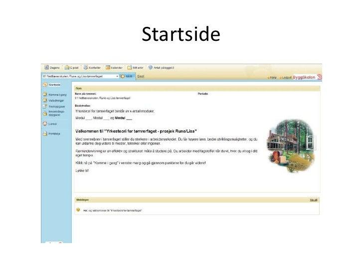 Startside<br />