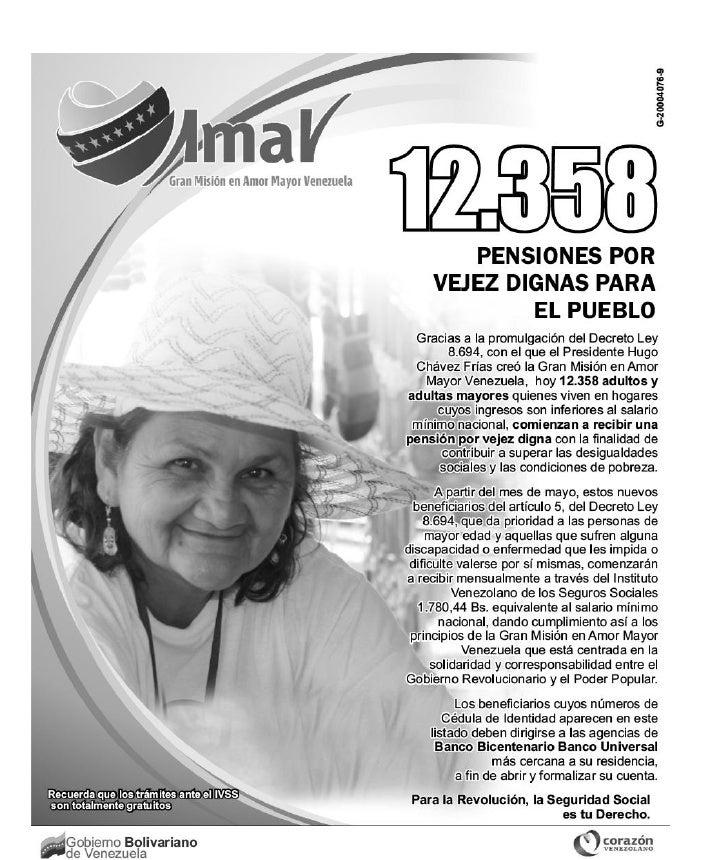 Lista amor-mayor-venezuela mayo