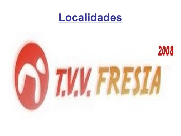 Localidades