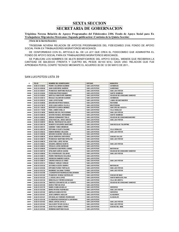 Lista de ex braceros