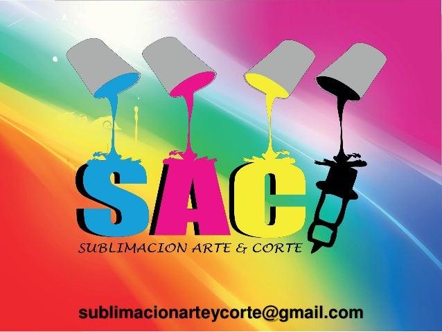 sublimacionarteycorte@gmail.com