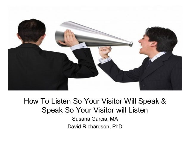 Listen and speak promo powerpoint