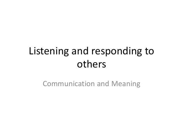 Listening (1)