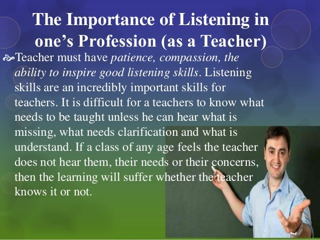 an essay on effective listening Effective listening skills essays: over 180,000 effective listening skills essays, effective listening skills term papers, effective listening skills research paper, book reports 184 990 essays, term and research papers available for unlimited access.