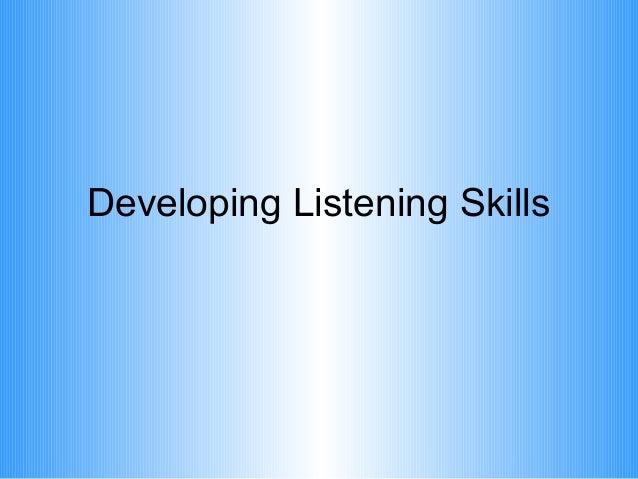 Listening skills cc