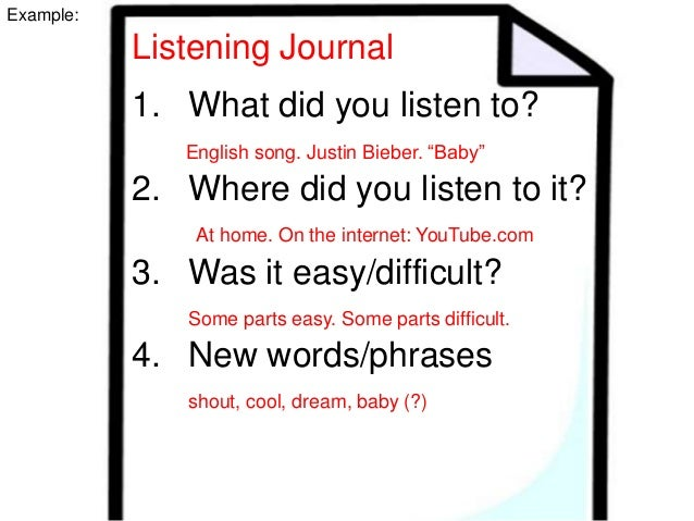 Listening comprehension exercises for adults mistaken