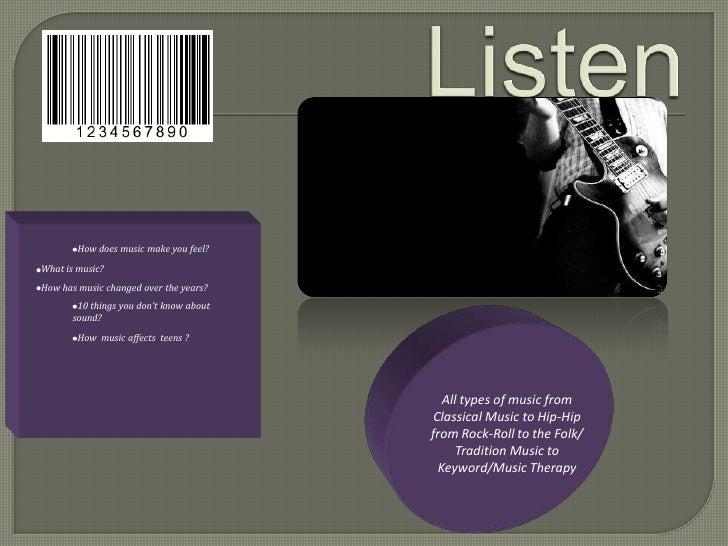 Listen powerpoint