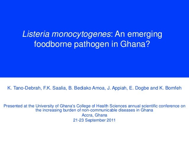 emerging food borne pathogens The present investigation can be classified into four major parts the first part is  the isolation and presumptive identification of escherichia coli,.