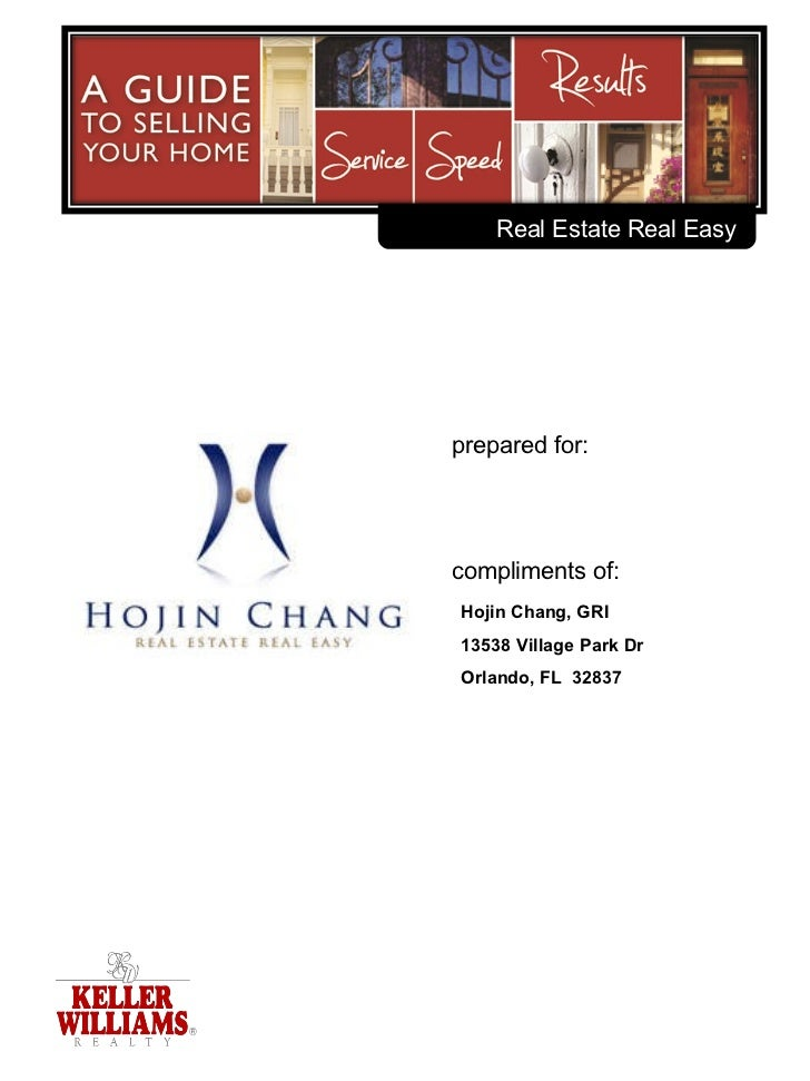 Home Selling Services from Hojin Chang