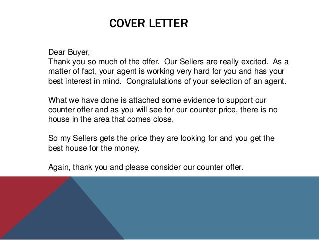 of from to letter seller example home buyer cover counter cover offer letter cover buyer letter