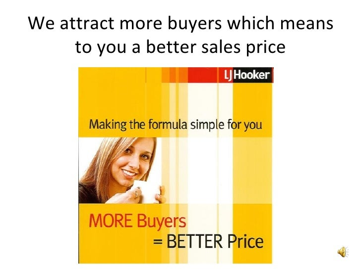 We attract more buyers which means to you a better sales price