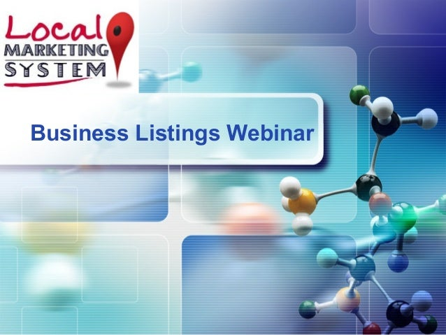 LOGO Business Listings Webinar